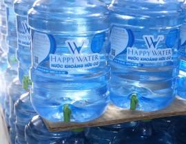 nước bình happywater.